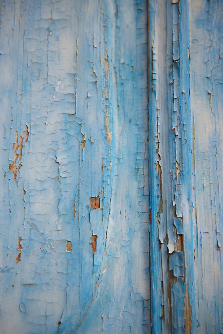 Urban textures - peeling paint on wood