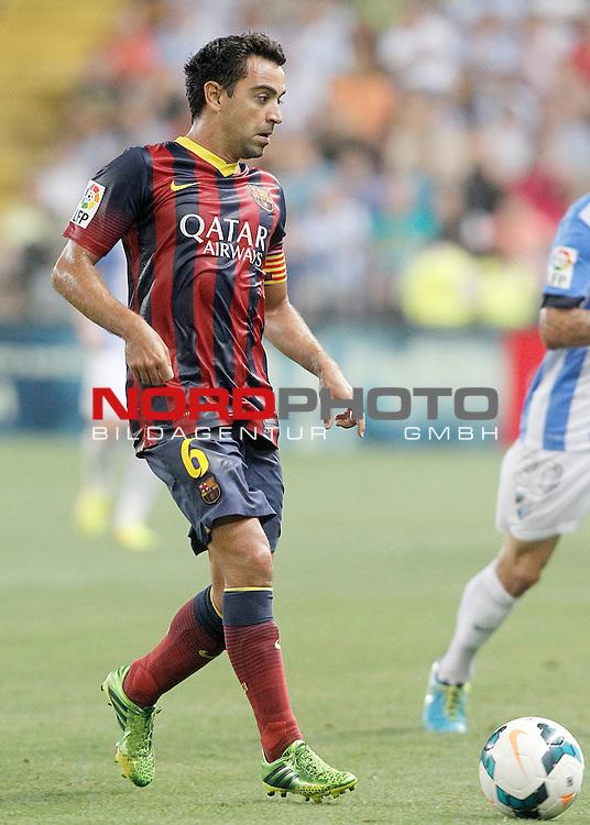 FC Barcelona's Xavi Hernandez during La Liga match.August 25,2013. Foto © nph / Acero)