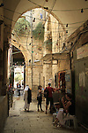 Israel, Jerusalem, a street at the Old City