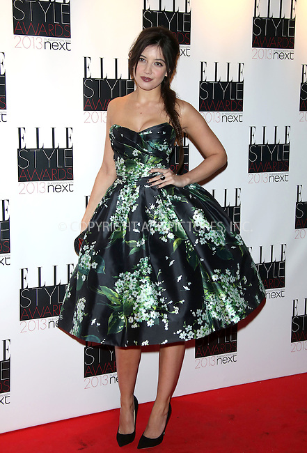WWW.ACEPIXS.COM....US Sales Only....February 11 2013, London....Daisy Lowe at the Elle Style Awards held at the Savoy on February 11 2013 in London....By Line: Famous/ACE Pictures......ACE Pictures, Inc...tel: 646 769 0430..Email: info@acepixs.com..www.acepixs.com