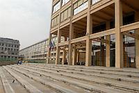 - Tourin. Lingotto building, former FIAT headquarters....- Torino, palazzo Lingotto, ex sede direzionale della FIAT