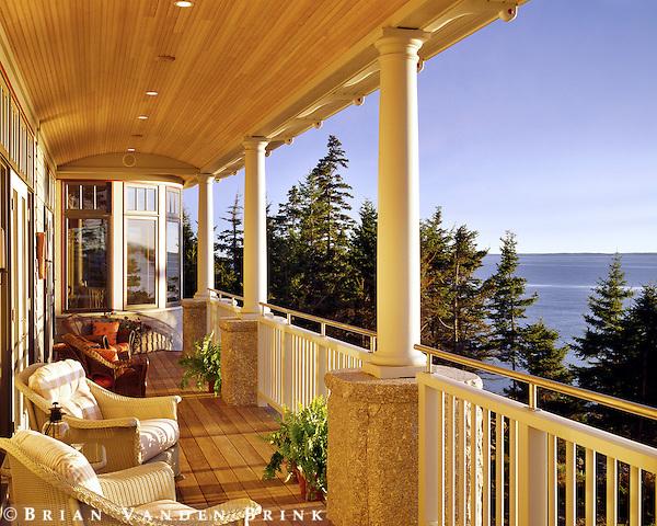 Coastal Maine. Design: Elliott + Elliott Architecture
