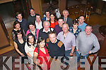 Kieran O'Donoghue, Mounthawk, Tralee (front centre) celebrated his 40th birthday last Saturday night in the Ballygarry House Hotel, Tralee along with many friends and family.