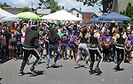 The ENERGY Dance Company performing at the 11th Annual Mid-town Make a Difference Day Celebration on Franklin Street, in Kingston, NY on Saturday, June  18, 2016. Photo by Jim Peppler. Copyright Jim Peppler 2016.