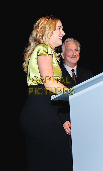 13 September 2014 - Toronto, Ontario, Canada - Kate Winslet, Alan Rickman. &quot;A Little Chaos&quot; the closing night film for the 2014 Toronto International Film Festival held at Roy Thomson Hall.  <br /> CAP/ADM/BPC<br /> &copy;Brent Perniac/AdMedia/Capital Pictures