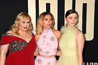 "LOS ANGELES, USA. October 15, 2019: Rebel Wilson, Scarlett Johansson & Thomasin McKenzie at the premiere of ""JoJo Rabbit"" at the Hollywood American Legion.<br /> Picture: Paul Smith/Featureflash"