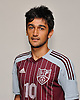 Char Senlik of Deer Park poses for a portrait during Newsday's 2016 varsity boys soccer season preview photo shoot at company headquarters on Tuesday, Sept. 6, 2016.