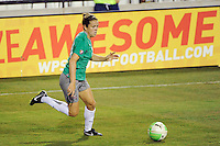 Kelley O'Hara (19) of Abby XI during the Women's Professional Soccer (WPS) All-Star Game at KSU Stadium in Kennesaw, GA, on June 30, 2010.