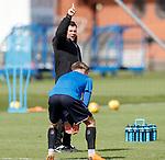 27.04.2018 Rangers training: Graeme Murty