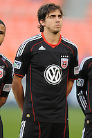DC United defender Dejan Jakovic (5)    DC United defeated The Seattle Sounders 2-1 at  RFK Stadium, Wednesday May 4, 2011.