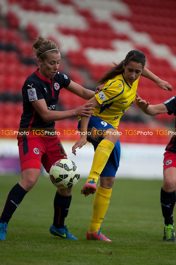- Scunthorpe United vs Gillingham - Sky Bet League One  - Doncaster Rovers Belles vs Reading Women - FA Womens Super League 2 Football at the Keepmoat Stadium, Doncaster Rovers FC - 16/05/15 - MANDATORY CREDIT: Mark Hodsman/TGSPHOTO - Self billing applies where appropriate - contact@tgsphoto.co.uk - NO UNPAID USE
