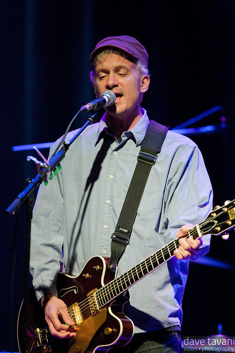 Chris Collingwood of Fountians of Wayne performs at the Sellersville Theater on March 17, 2013.
