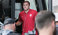 Philadelphia, PA - Wednesday July 19, 2017: Jordan Morris during a 2017 Gold Cup match between the men's national teams of the United States (USA) and El Salvador (SLV) at Lincoln Financial Field.