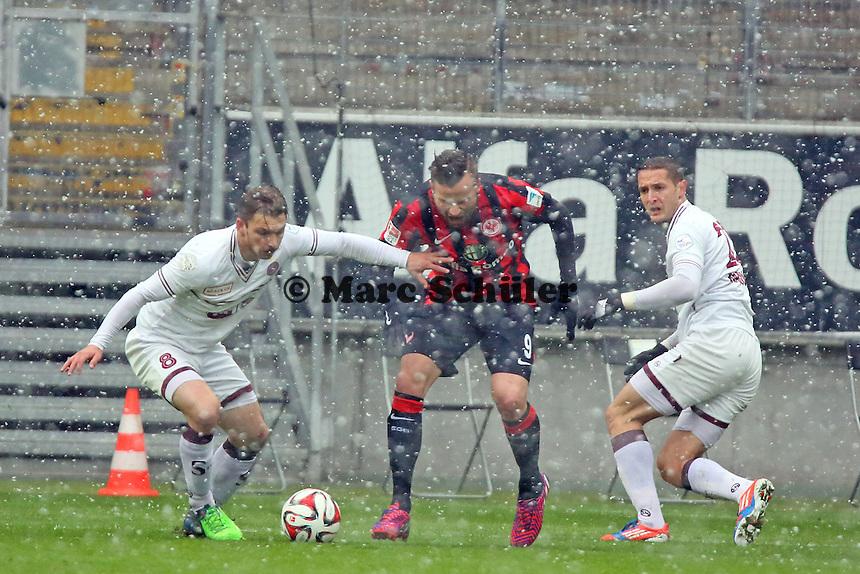Haris Seferovic (Eintracht) - Eintracht Frankfurt vs. Servette Genf, Commerzbank Arena