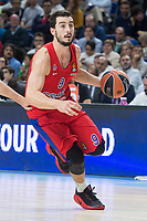 CSKA Moscu Leo Westermann during Turkish Airlines Euroleague match between Real Madrid and CSKA Moscu at Wizink Center in Madrid, Spain. October 19, 2017. (ALTERPHOTOS/Borja B.Hojas) /NortePhoto.com