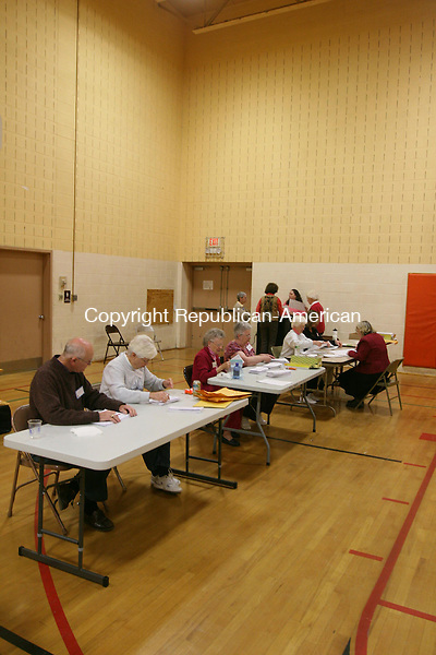 WINSTED, CT - 5 November, 2010 - 110610MO02 - State Rep. John B. Rigby, R-Colebrook, lost a vote Saturday during Winsted's recount of the 63rd House District Race, most likely the result of a paper jam in the optical scan machine used to recount the ballots. Moderator Debbie Angell opted not to spend four more hours putting all of the ballots through the machine, though she said if the race comes down to a single vote, that remains an option. Jim Moore Republican-American.