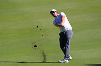 Sam Horsfield (ENG) in action on the 1st during Round 2 Matchplay of the ISPS Handa World Super 6 Perth at Lake Karrinyup Country Club on the Sunday 11th February 2018.<br /> Picture:  Thos Caffrey / www.golffile.ie<br /> <br /> All photo usage must carry mandatory copyright credit (&copy; Golffile   Thos Caffrey)