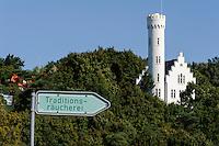 Schloss in Lietzow auf der Insel Rügen, Mecklenburg-Vorpommern, Deutschland