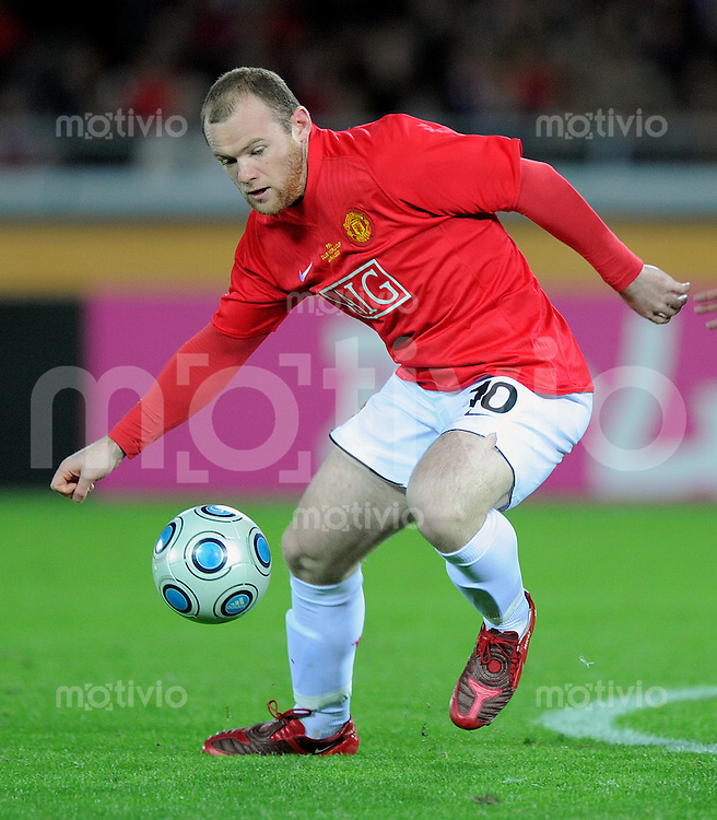Fussball International FIFA Club WM Japan 2008     18.12.2008 Halbfinale Gamba Osaka - Manchester United Wayne Rooney (ManU)