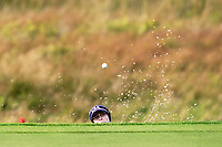 Brittany Altomare (USA) on the 1st during Day 3 Singles at the Solheim Cup 2019, Gleneagles Golf CLub, Auchterarder, Perthshire, Scotland. 15/09/2019.<br /> Picture Thos Caffrey / Golffile.ie<br /> <br /> All photo usage must carry mandatory copyright credit (© Golffile | Thos Caffrey)