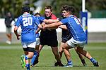 NELSON, NEW ZEALAND - September 30: Rep Rugby Nelson Bays U16 v Canterbury Metro U16, September 30, 2017, Trafalgar Park, Nelson, New Zealand. (Photo by: Barry Whitnall Shuttersport Limited)