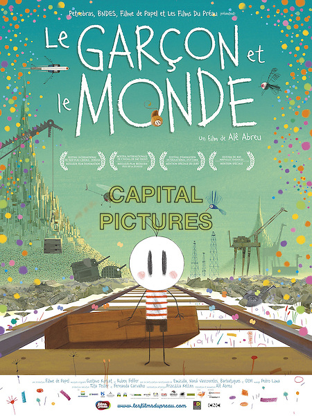 FRENCH POSTER ART<br /> in The Boy and the World (2013) <br /> (O Menino e o Mundo)<br /> (Le Garcon et le Monde)<br /> *Filmstill - Editorial Use Only*<br /> CAP/NFS<br /> Image supplied by Capital Pictures