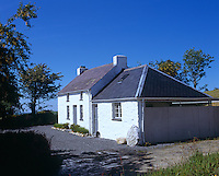 Side view of Bryncyn, a country cottage in Carmarthenshire restored by Dorian Bowen