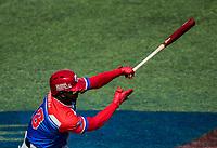 Rusney Castillo (18) de Puerto Rico.<br /> .<br /> Partido de beisbol de la Serie del Caribe con el encuentro entre Caribes de Anzo&aacute;tegui de Venezuela  contra los Criollos de Caguas de Puerto Rico en estadio Panamericano en Guadalajara, M&eacute;xico,  s&aacute;bado 5 feb 2018. <br /> (Foto: Luis Gutierrez)<br /> <br /> Baseball game of the Caribbean Series with the match between Caribes de Anzo&aacute;tegui of Venezuela against the Criollos de Caguas of Puerto Rico, at the Pan American Stadium in Guadalajara, Mexico, Saturday, February 5, 2018.<br /> (Photo: Luis Gutierrez)