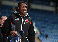 Blackpool's Marc Bola arriving at the stadium <br /> <br /> Photographer Andrew Kearns/CameraSport<br /> <br /> The EFL Sky Bet League One - Portsmouth v Blackpool - Saturday 12th January 2019 - Fratton Park - Portsmouth<br /> <br /> World Copyright © 2019 CameraSport. All rights reserved. 43 Linden Ave. Countesthorpe. Leicester. England. LE8 5PG - Tel: +44 (0) 116 277 4147 - admin@camerasport.com - www.camerasport.com