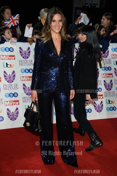 LONDON, UK. October 29, 2018: Amanda Byram at the Pride of Britain Awards 2018 at the Grosvenor House Hotel, London.<br /> Picture: Steve Vas/Featureflash