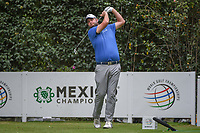 Marc Leishman (AUS) watches his tee shot on 3 during round 3 of the World Golf Championships, Mexico, Club De Golf Chapultepec, Mexico City, Mexico. 2/23/2019.<br /> Picture: Golffile | Ken Murray<br /> <br /> <br /> All photo usage must carry mandatory copyright credit (© Golffile | Ken Murray)