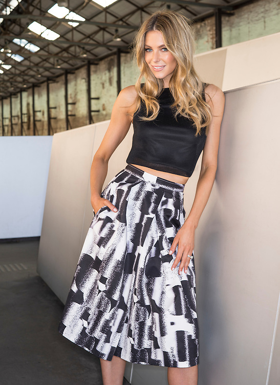 Fashion With Mirella, Myer Trend shoot with Jennifer Hawkins, at CARRIAGEWORKS, 245 Wilson St, Eveleigh NSW 2015.  Photo: Nick Clayton