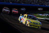 Nov. 9, 2008; Avondale, AZ, USA; NASCAR Sprint Cup Series driver Bobby Labonte during the Checker Auto Parts 500 at Phoenix International Raceway. Mandatory Credit: Mark J. Rebilas-