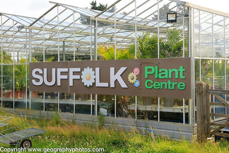 Suffolk Plant Centre garden centre, Pettistree, Suffolk, England, UK