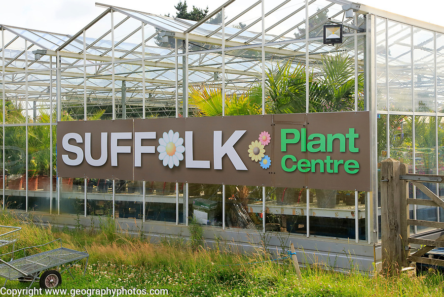Suffolk Plant Centre garden centre, Pettistree, Suffolk, England, UK