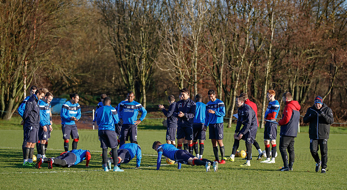Press ups for the losers at training