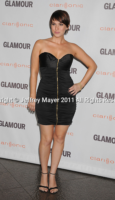 LOS ANGELES, CA - OCTOBER 24: Joanna Canton attends the Glamour Reel Moments at DGA Theater on October 24, 2011 in Los Angeles, California.