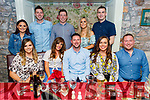 Keith Hannafin from Tralee, celebrating his birthday in Cassidys on Saturday.<br /> Front l to r: Megan O'Brien, Aisling Willis, Keith Hannafin, Sarah O'Sullivan and Padraig O'Leary. Back l to r: Vanessa Houlihan, Shane and Richard Nolan, Michelle Young and Tom McElligott,