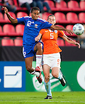 Elodie Thomis, Petra Hogewoning, QF, Holland-France, Women's EURO 2009 in Finland, 09032009, Tampere, Ratina Stadium.