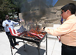 Images from the 14th annual Nevada Boys State Flag Retirement ceremony in Carson City, Nev., on Friday, June 24, 2016.<br /> Photo by Cathleen Allison