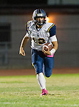 Lawndale, CA 10/07/16 - Dariush Sayson (Santa Monica #12) in action during the CIF Bay League game between Santa Monica and Lawndale.