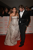 Jacqueline Jossa and Dan Osbourne attending the National Television Awards 2018 at The O2 Arena on January 23, 2018 in London, England. <br /> CAP/Phil Loftus<br /> &copy;Phil Loftus/Capital Pictures