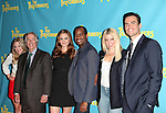 "The cast  of ""The Performers"", from left, actress Jenni Barber, actor Henry Winkler, actress Alicia Silverstone, actor Daniel Breaker, actress Ari Graynor and actor Cheyenne Jackson  attends press event to introduce the cast and creators of the new Broadway play ""The Performers""at the Hard Rock Cafe on Tuesday, Sept. 25, 2012 in New York."
