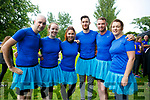 At the IT'S A KNOCKOUT in the Town Park on Sunday were Outlook Team Donal Barry, Elaine Prendeville, Silvia Semkova, Stephan Cahill, James McCarthy, Ger Hennessy
