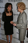 Susan Lucci and Agnes Nixon - All My Children at 40 celebrate on January 10, 2010 at the New York Times Arts & Leisure Weekend at the TimesCenter Stage, New York City, New York. (Photo by Sue Coflin/Max Photos)