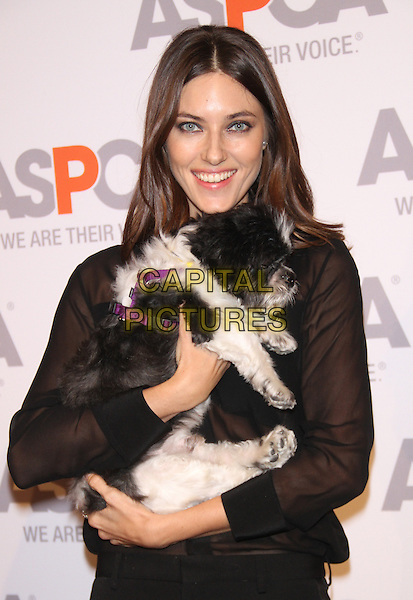 NEW YORK, NY - OCTOBER 16: Nadejda Savcova at ASPCA Young Friends Benefit at IAC Building on October 16, 2014 in New York City.  <br /> CAP/MPI/RW<br /> &copy;RW/ MediaPunch/Capital Pictures