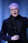 """Clay Aiken during the Opening Night Curtain Call for """"Ruben & Clay's First Annual Christmas Show"""" on December 11, 2018 at the Imperial Theatre in New York City."""