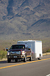2011 Ford Super Duty towing trailers