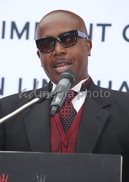 03 June 2015 - Hollywood, California - MC Hammer. TCL Chinese Theatre IMAX 88th Birthday Hand Print Ceremony held at the at The TCL Chinese Theatre IMAX. Photo Credit: F. Sadou/AdMedia