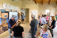 Ribbon Cutting Ceremony for the New Meigs Point Nature Center at Hammonasset Beach State Park. A Connecticut State Project No: BI-T-601   Northeast Collaborative Architects  Contractor: Secondino & Son